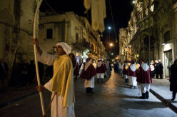A procession at Noto