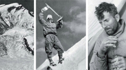 Maurice Herzog on Annapurna in 1950