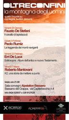 Paolo Rumiz e La leggenda dei monti naviganti a Bassano del Grappa per Oltreconfini. La montagna degli uomini