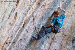Gabriele Moroni on Jungle Speed 9a, Siurana