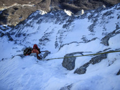 First winter ascent attempt of Orient Express by Andrea Di Donato, Andrea Di Pascasio and Lorenzo Angelozzi