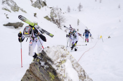 The first stage of the Ski Mountaineering World Cup which took place in Italy's Valle Aurina on 12-13/01/2013