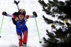Laetitia Roux, winner in Valle Aurina on 12-13/01/2013