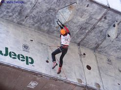 The Ice Climbing World Cup 2008 in Busteni (RO)