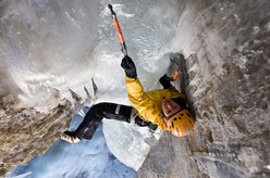 Ines Papert on-sighting The Flying Circus M10, Breitwangfluh, Switzerland