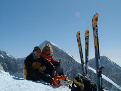 Alpago ski mountaineering