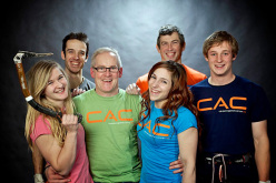 Shauna Coxsey, Tom Randall, John Ellison, Alex Puccio, Andy Turner and Pete Whittaker.