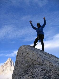Patagonia summit.