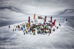 During the Freeride Challenge Punta Nera 2012 at Cortina