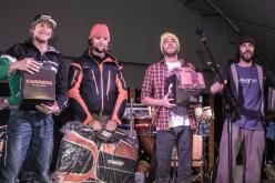 Momenti del Freeride Challenge Punta Nera 2012 a Cortina