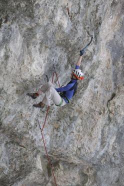 Lucie Hrozová su Spiderman M13 a Eptingen, Svizzera.