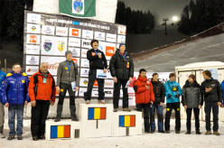 Male podium at Busteni, from left to right: Nikolay Kuzovlev, Park Heeyong and Nikolay Kuzovlev