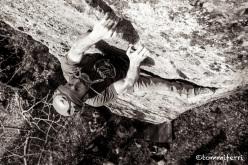 Amiata trad climbing in Tuscany