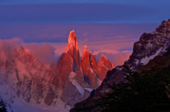 Cerro Torre in Patagonia, taken by Markus Pucher during his visit in 2012.