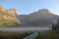 La Rossa e il Crampiolo Sud dall'Alpe Devero