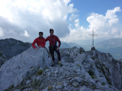 Giangi Angeloni and Daniele Calegari