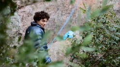Italian climber Jacopo Larcher