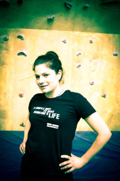 The Climb for Life 2013 T-shirt campaign to promote bone marrow donation