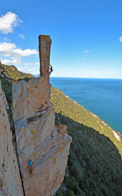 Sardinia's needles: two rock climbs by Maurizio Oviglia
