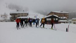 In Dolomiti durante il primo corso aspiranti guida alpina 2013 - 2014 del Polo Interregionale.