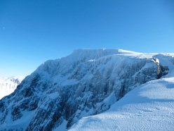Cornices on Ben Nevis