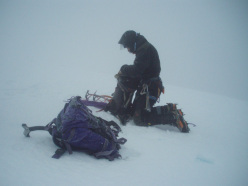 True conditions on the summit of Ben Nevis