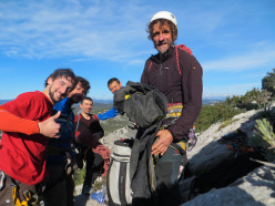 The strong team of Trentino climbers