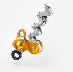 Petzl ZIGZAG mechanical prusik for arborists.