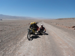 Nel deserto dell'Atacama in Cile