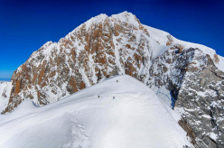 Aiguille Blanche de Peuterey: 29 years on the first repeat of the Never Never Face