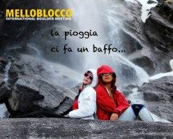 Melloblocco 2013... rain won't stop play