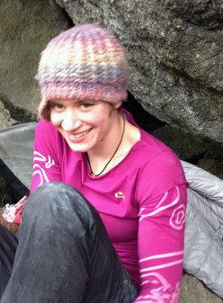Anna Borella viso da monella (climber)