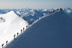 Mezzalama Trophy gets underway on Saturday 4 May, the classic ski mountaineering competition from Breuil-Cervinia to Gressoney across the slopes of Monte Rosa.