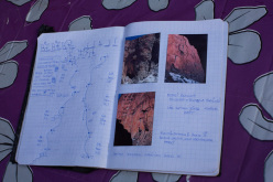 April 2013: Azazar (400m, 8a), Tadrarate, Taghia, Morocco.