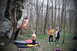 Bouldering in Val Brenta