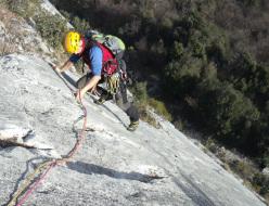 Luca Pilati on Fantatitoli, Parete Zebrata - Monte Brento