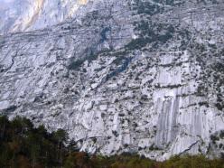 Parete Zebrata - Monte Brento