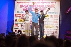 Men's podium: Dmitrii Sharafutdinov, Jan Hojer, KilianFischhuber