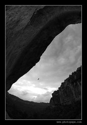 Adam Ondra at Siurana, Spain. www.photopepe.com
