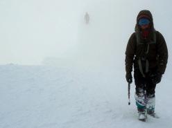 Ghost Face, parete Nord Est dello Hubshorn (3192m, Alpi Pennine)