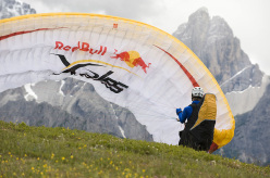 During the Red Bull X-Alps 2011