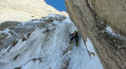 Tad McCrea and his recent climbs in Alaska, Patagonia and other peaks in North America.