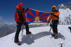 Island Peak, 6.189 metri, aprile 2008
