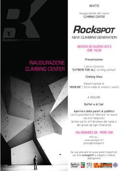 Giovedì 20 giugno in via Gramsci, 29 - Pero (MI) (MM1 Molino Dorino/Pero) si inaugura RockSpot Nord Ovest