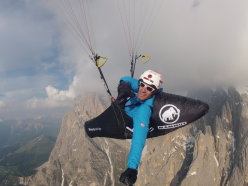 Born in 1985, Peter Gebhard will take part in his first ever Red Bull X-Alps on July 7 2013.