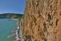 Amedeo Polito climbing Non sia Maya