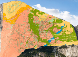 The geological mapping of El Capitan, Yosemite
