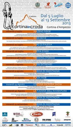 Il manifesto di Cortina InCroda 2013
