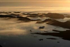 Groenlandia: mare di nebbie