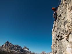 Marco Sterni su Gallo George, Muraglia del Giau, Lastoni di Formin, Dolomiti